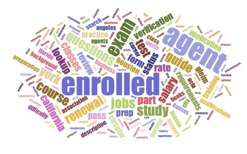 Enrolled Agent WordCloud